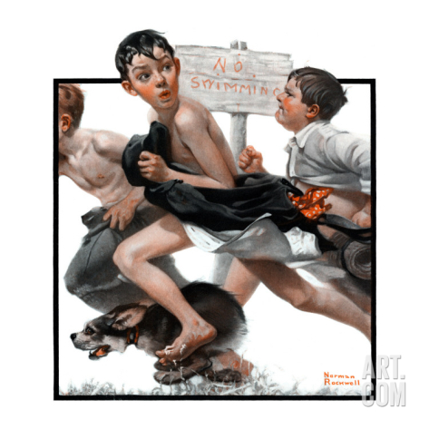 norman-rockwell--no-swimming-june-4-1921_i-G-52-5271-WQPZG00Z