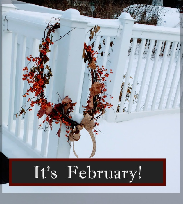 It's Feb! wreath